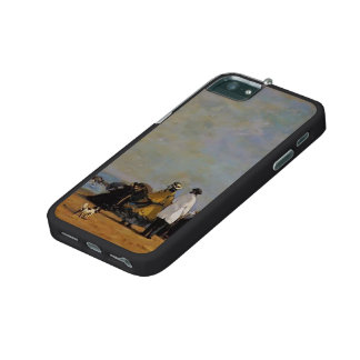 Eugene Boudin- Crinolines on the Beach Case For iPhone 5/5S