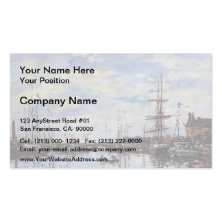 Eugene Boudin- Deauville, the Dock Double-Sided Standard Business Cards (Pack Of 100)