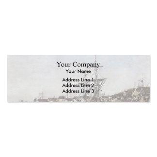 Eugene Boudin- Deauville, the Docks Business Cards