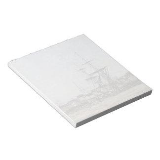 Eugene Boudin- Deauville, the Docks Memo Notepads