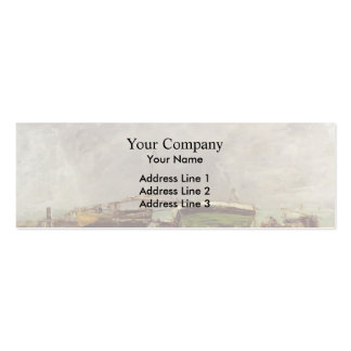 Eugene Boudin- Etretat Business Cards
