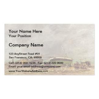 Eugene Boudin- Etretat Double-Sided Standard Business Cards (Pack Of 100)
