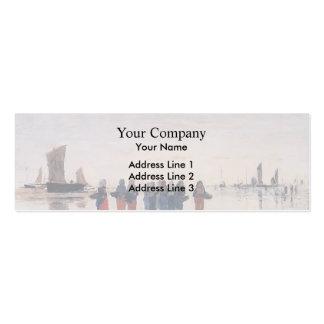 Eugene Boudin- Fisherwomen at Berck Business Card Template