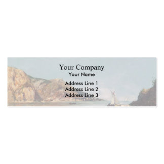 Eugene Boudin- Fourmis Bay Beaulieu Business Card