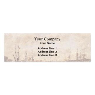 Eugene Boudin- Le Havre Business Cards