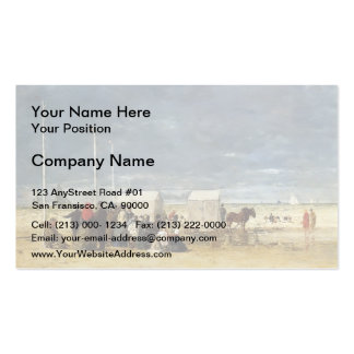 Eugene Boudin- On the Beach Double-Sided Standard Business Cards (Pack Of 100)