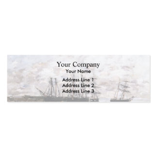 Eugene Boudin- Portrieux Business Card Templates