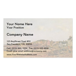Eugene Boudin- Portrieux Double-Sided Standard Business Cards (Pack Of 100)