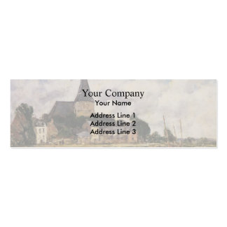 Eugene Boudin- Quittebeuf Business Card