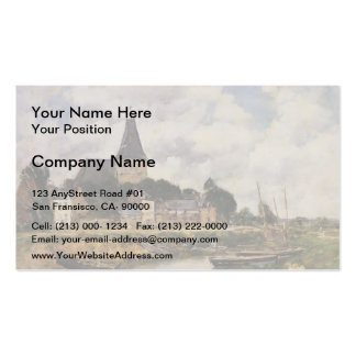 Eugene Boudin- Quittebeuf Double-Sided Standard Business Cards (Pack Of 100)