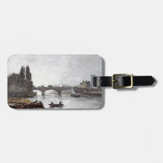 Eugene Boudin-Rouen,the Pont Corneille,Fog Effect Tags For Luggage