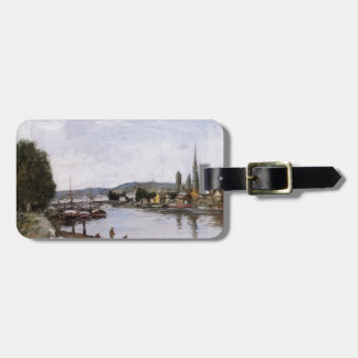 Eugene Boudin- Rouen, View from the Queen's Way Tag For Luggage