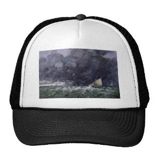 Eugene Boudin- Rough Seas Mesh Hats
