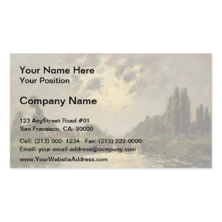 Eugene Boudin- Saint-Valery-sur-Somme Double-Sided Standard Business Cards (Pack Of 100)