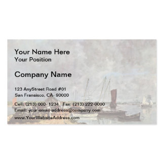 Eugene Boudin- Seehafen Double-Sided Standard Business Cards (Pack Of 100)
