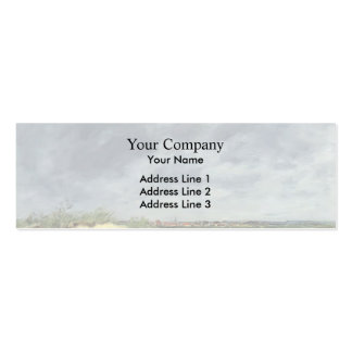 Eugene Boudin- The Berck Dunes Business Card