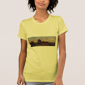 Eugene Boudin- The Francois Ier Tower at Le Havre Tee Shirts