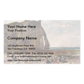 Eugene Boudin- The Laundresses of Etretat Double-Sided Standard Business Cards (Pack Of 100)