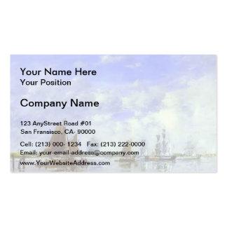 Eugene Boudin- The Meuse at Dordrecht Double-Sided Standard Business Cards (Pack Of 100)