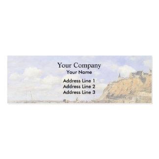 Eugene Boudin- The Shore at Villerville Business Card Template
