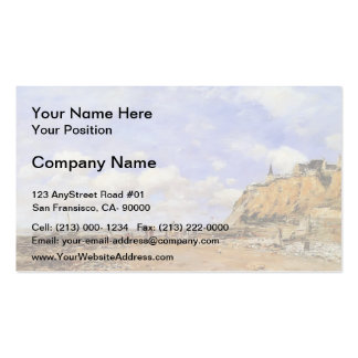 Eugene Boudin- The Shore at Villerville Double-Sided Standard Business Cards (Pack Of 100)
