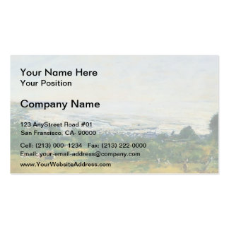 Eugene Boudin- The Trouville Heights Double-Sided Standard Business Cards (Pack Of 100)