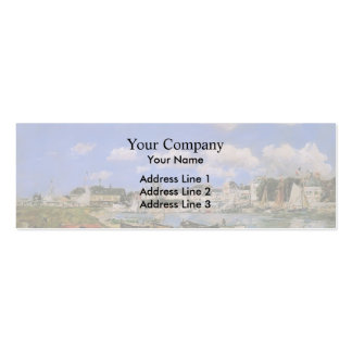 Eugene Boudin- Trouville Business Card Template