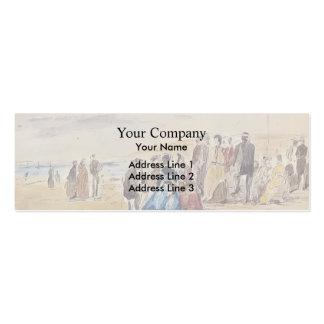 Eugene Boudin- Trouville Business Card Templates
