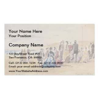 Eugene Boudin- Trouville Double-Sided Standard Business Cards (Pack Of 100)