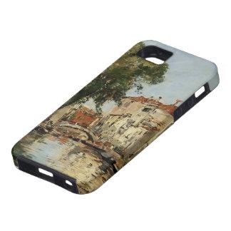 Eugene Boudin- Venecia iPhone 5 Fundas