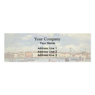 Eugene Boudin- Venice Business Card