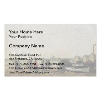 Eugene Boudin- Women on the Beach, Rough Seas Business Card