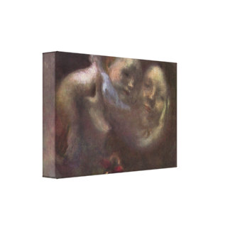 Eugene Carriere - Maternity Stretched Canvas Print