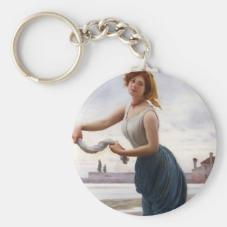 Eugene de Blaas- The Lavender Keychains