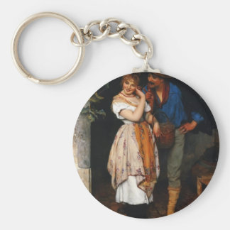 Eugene de Blaas- The Suitor Keychains