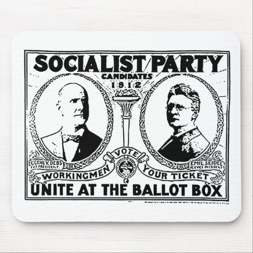 Eugene Debs Campaign Poster Mousepad