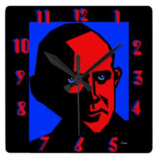 Eugene Debs de Don Busky Reloj Cuadrado