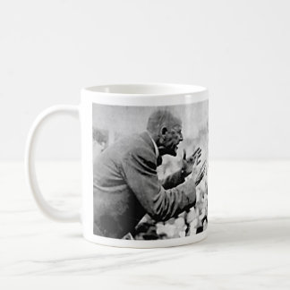 Eugene Debs photograph with quote Classic White Coffee Mug