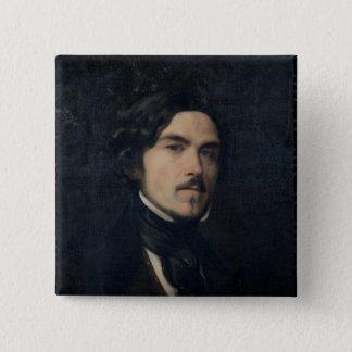 Eugene Delacroix  1840 Button