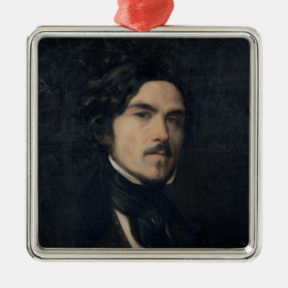 Eugene Delacroix  1840 Metal Ornament