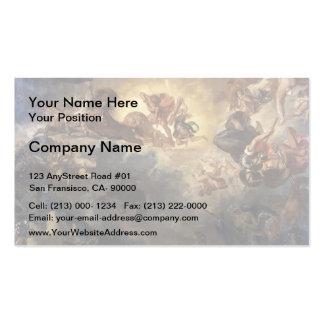 Eugene Delacroix- Apollo Slays Python Business Card
