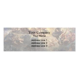 Eugene Delacroix- Apollo Slays Python Business Card Templates