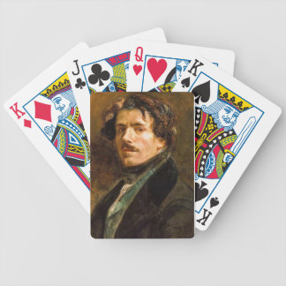Eugene Delacroix Bicycle Playing Cards