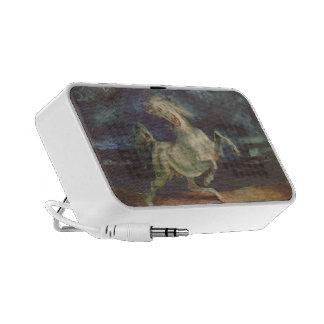 Eugene Delacroix: Caballo asustado por una torment iPhone Altavoces