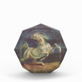 Eugene Delacroix: Caballo asustado por una torment