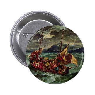 Eugene Delacroix- Cristo en el mar de Galilea Pin