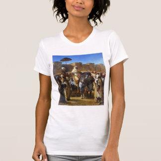 Eugene Delacroix- el sultán de irse de Marruecos Camiseta