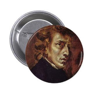 Eugene Delacroix- Federico Chopin Pins