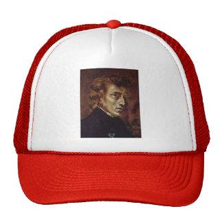 Eugene Delacroix- Frederic Chopin Mesh Hats