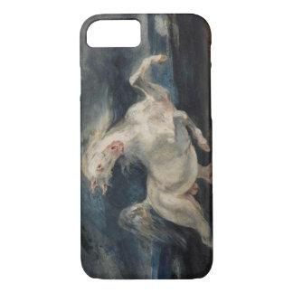 Eugene Delacroix - Horse Frightened by Lightning iPhone 8/7 Case